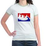 Major League White Water Raft Jr. Ringer T-Shirt