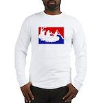 Major League White Water Raft Long Sleeve T-Shirt