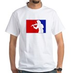 Major League Violin White T-Shirt