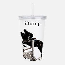 Fun iJump Equestrian H Acrylic Double-wall Tumbler