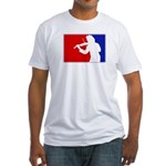Major League Violin Fitted T-Shirt