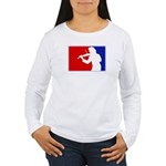Major League Violin Women's Long Sleeve T-Shirt