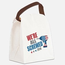Screwed 2016 Canvas Lunch Bag