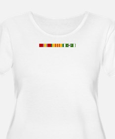 Vietnam Ribbons Plus Size T-Shirt