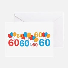 60 years old - 60th Birthday Greeting Cards