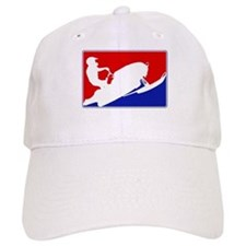Major League Snowmobiling Baseball Cap