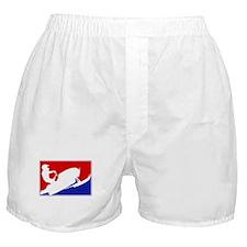 Major League Snowmobiling Boxer Shorts