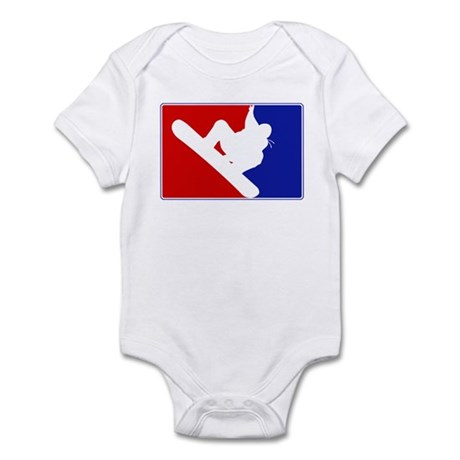 Major League Snowboarding Infant Bodysuit