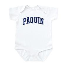 PAQUIN design (blue) Infant Bodysuit