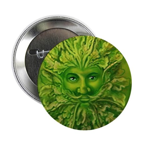 "The Greenman 2.25"" Button (100 pack)"