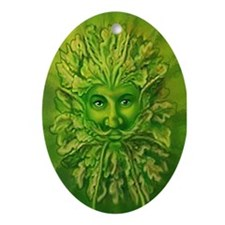 The Greenman Keepsake (Oval)