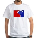 Major League Skydiving White T-Shirt
