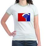Major League Skydiving Jr. Ringer T-Shirt