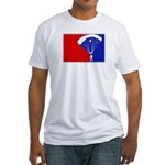 Major League Skydiving Fitted T-Shirt