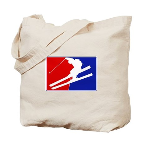 Major League Skiing Tote Bag