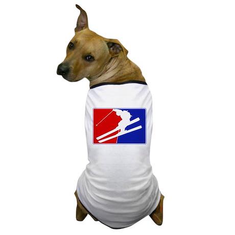 Major League Skiing Dog T-Shirt