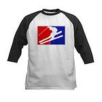 Major League Skiing  Kids Baseball Jersey
