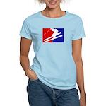 Major League Skiing  Women's Light T-Shirt