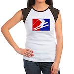 Major League Skiing  Women's Cap Sleeve T-Shirt
