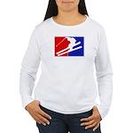 Major League Skiing  Women's Long Sleeve T-Shirt