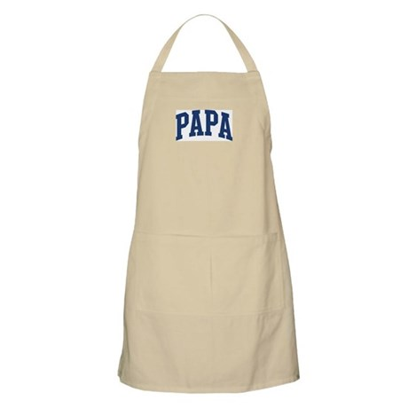 PAPA design (blue) BBQ Apron