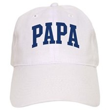 PAPA design (blue) Baseball Cap