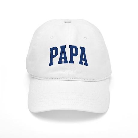 PAPA design (blue) Cap