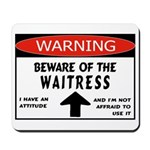 Waitress Mousepad