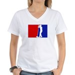Major League Sing Women's V-Neck T-Shirt