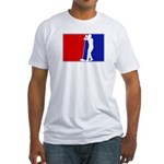 Major League Sing Fitted T-Shirt