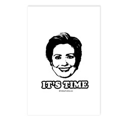 Hillary Clinton: It's time Postcards (Package of 8