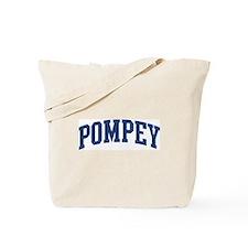 POMPEY design (blue) Tote Bag