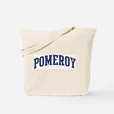 POMEROY design (blue) Tote Bag
