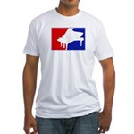 Major League Piano Fitted T-Shirt