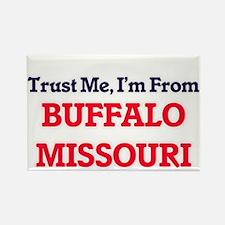Trust Me, I'm from Buffalo Missouri Magnets