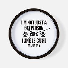 I'm a Jungle-curl Mommy Wall Clock