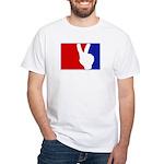 Major League Peace White T-Shirt