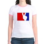 Major League Peace Jr. Ringer T-Shirt