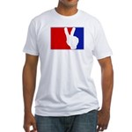 Major League Peace Fitted T-Shirt