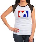 Major League Party Women's Cap Sleeve T-Shirt