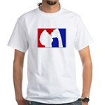 Major League Party White T-Shirt