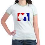 Major League Party Jr. Ringer T-Shirt