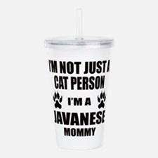 I'm a Javanese Mommy Acrylic Double-wall Tumbler