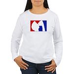 Major League Party Women's Long Sleeve T-Shirt