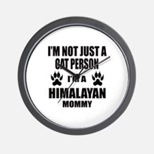 I'm a Himalayan Mommy Wall Clock