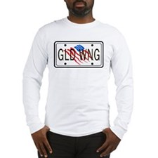 GLD WNG Tag, American Style! Long Sleeve T-Shirt