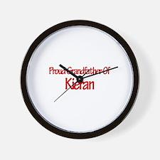 Proud Grandfather of Kieran Wall Clock
