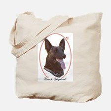 Dutch Shepherd Cameo Tote Bag