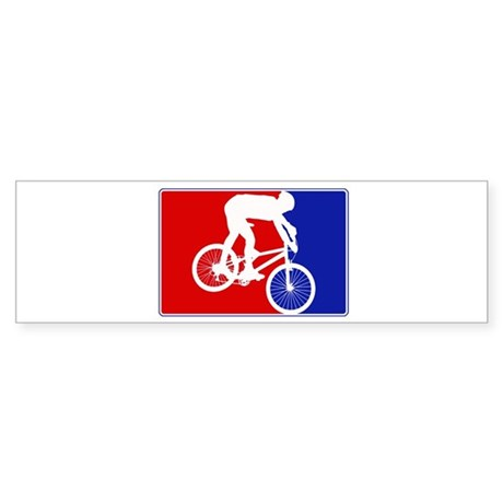 Major League Mountain Biking Bumper Sticker