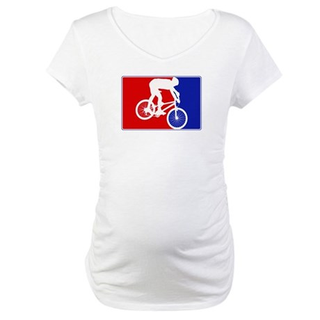 Major League Mountain Biking Maternity T-Shirt